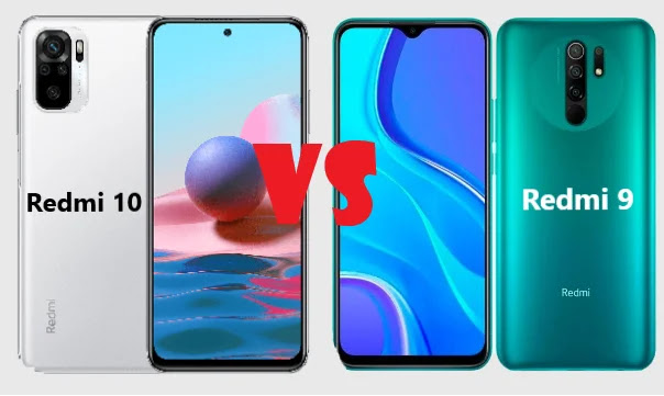 Comparaison entre le Redmi 10 et le Redmi 9 de Xiaomi