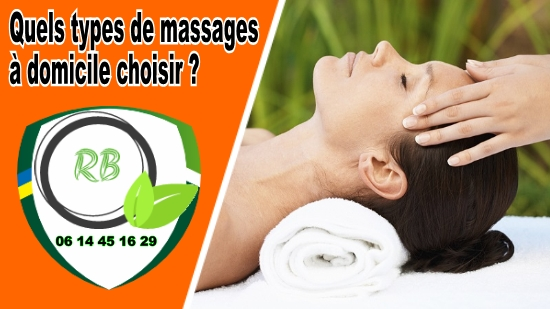 types de massages à domicile;
