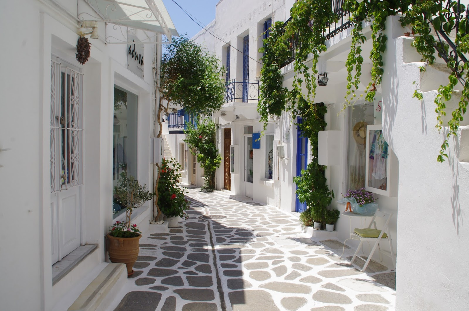 Streets of Parikia Paros