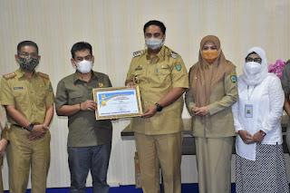 Maros Raih Penghargaan Kabupaten Terbaik Pengelolaan KotaKu