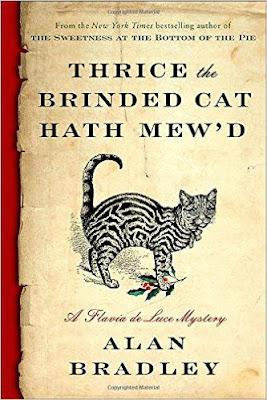 Thrice The Brinded Cat Hath Mew'd: A Flavia De Luce Novel PDF