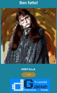 Soluzione Quiz Harry Potter livello 47