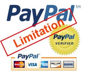 Limit akun paypal yaitu status yang diterapkan oleh paypal dengan cara menghentikan seme Tips semoga Akun Paypal tidak kena Limit Permanen