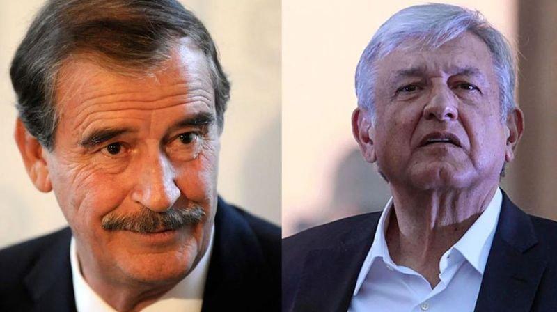 Fox llama ignor3nte a AMLO pero nombra a México como la Nueva España