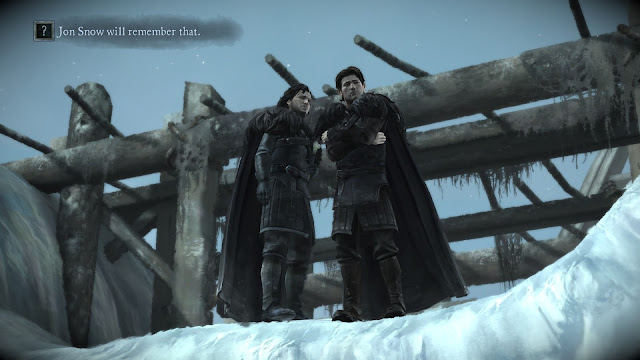Screenshot from Game of Thrones: A Telltale Game Series