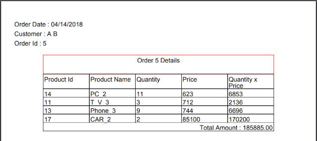 vb.net inventory system - printed order