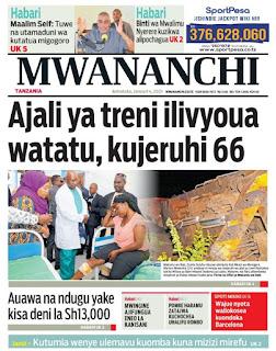 Habari kubwa za Magazeti ya Tanzania leo January 4, 2021