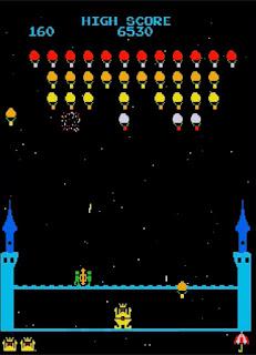 king & baloon  プレイ画面