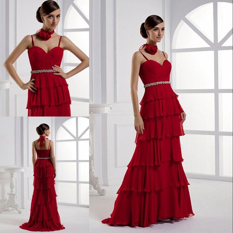 احمر في احمر red-prom-dresses-201