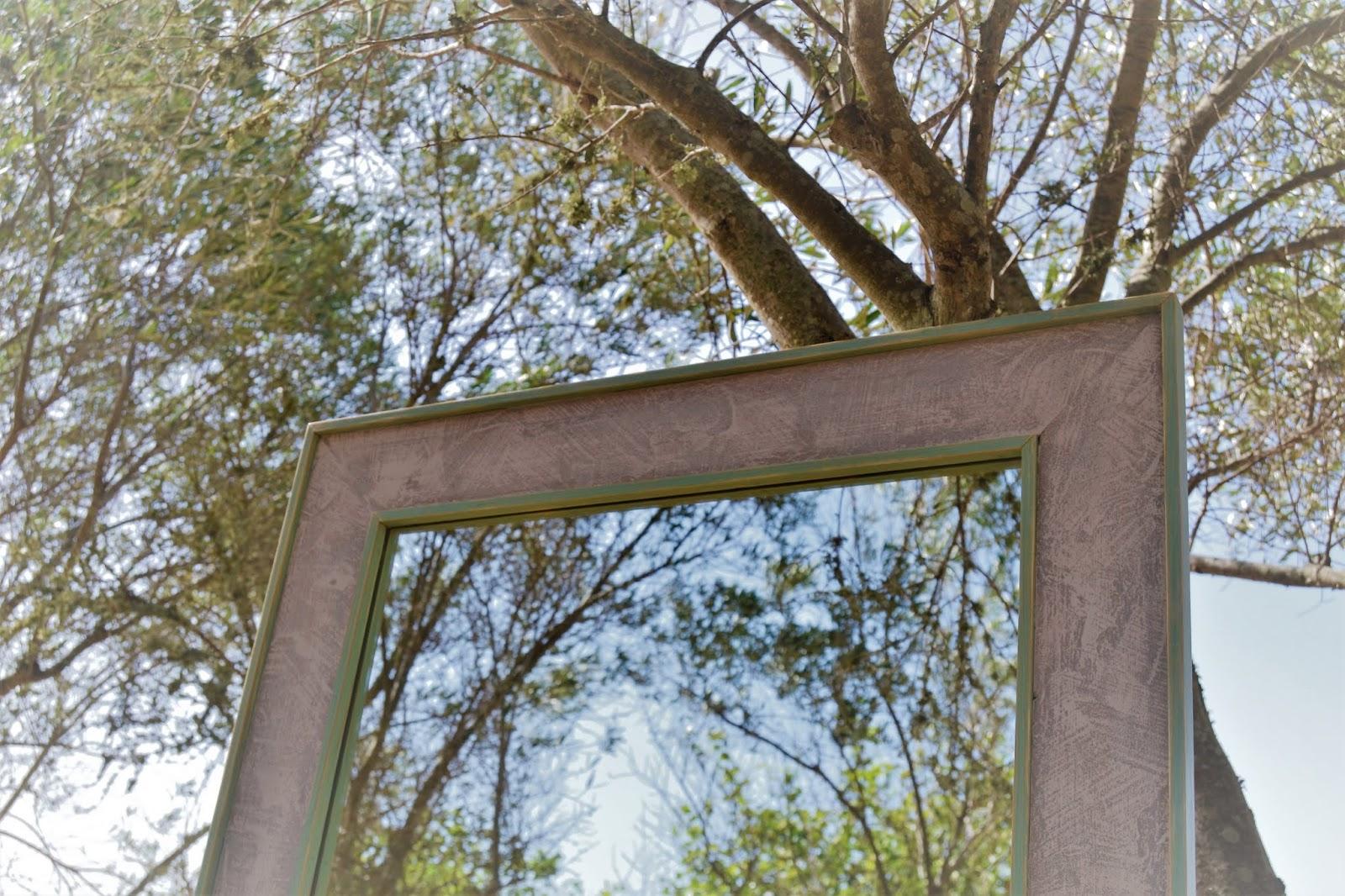 Diy, diseño y decoración de un espejo de cuerpo entero con la técnica delabré, te enseño paso a paso como hacerla