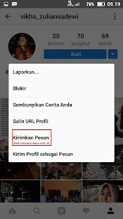 Cara Menggunakan Instagram Messages atau Direct Instagram Messages
