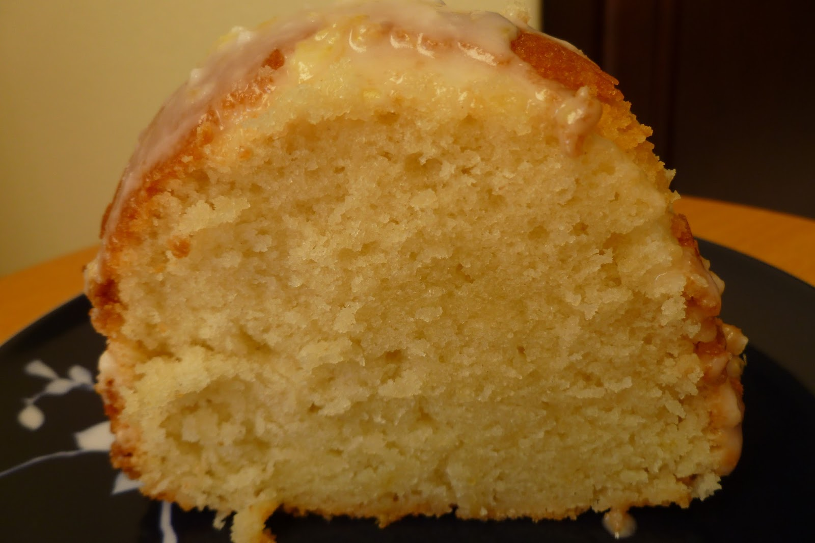 Pound Cake With Sour Cream Glaze Recipe