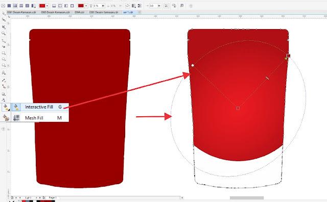 Kumpulan Kemasan CDR : Cara Membuat Template Desain ...