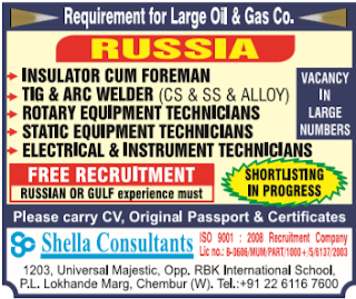 oil & gas jobs in russia