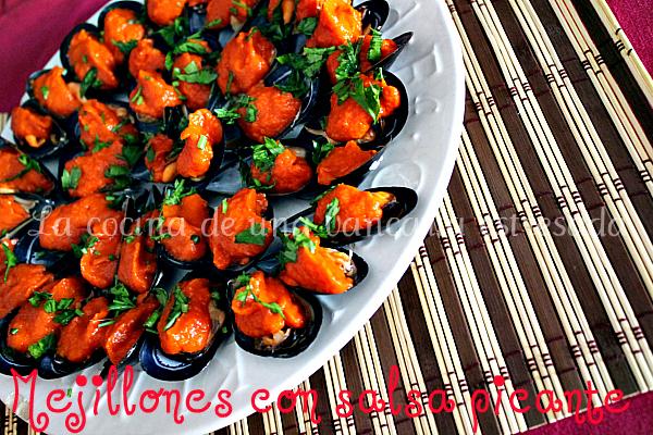Receta de mejillones en salsa picante