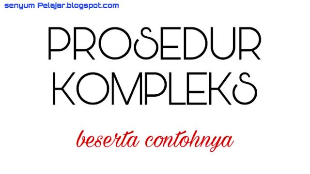 Prosedur kompleks