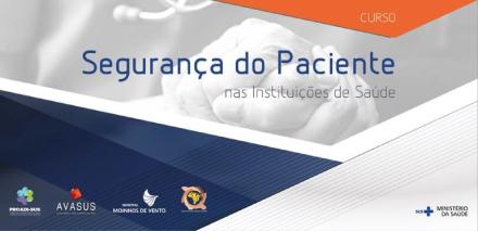 Curso EAD Seguranc%25CC%25A7a paciente - Inscrições abertas para curso EAD sobre segurança do paciente