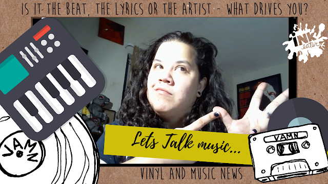 What Drives you to like Music - the Beat, the lyrics or the Artist ?