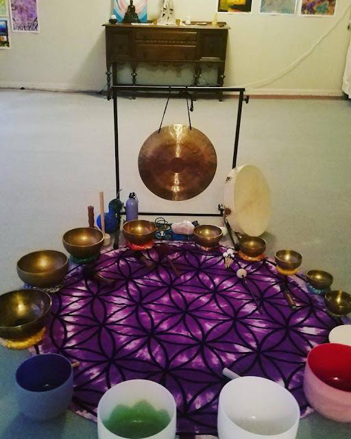 Enjoy an evening of Sound Healing.