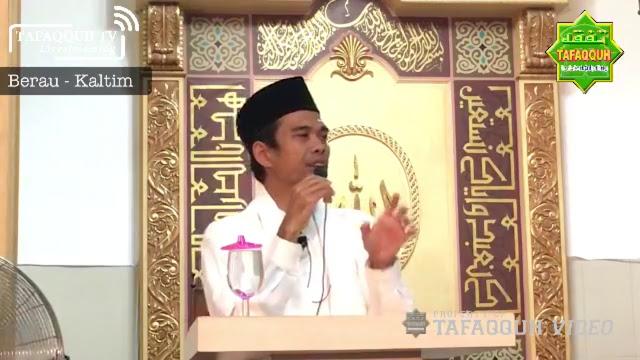 Kalau Lakukan 3 Hal Ini di Berau, Ustadz Somad Dituduh ISIS