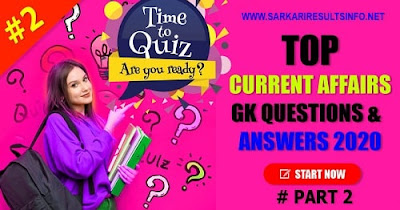 General Knowledge (GK) 2020: General Knowledge Questions and Answers to enhance your public awareness.
