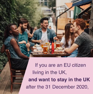 caption: If you are an EU citizen living in the UK, and want to stay in the UK after the 31 December 2020...