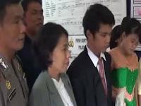 Dinikahkan di kantor polisi, Pasangan Frengky Hutapea dan Elisa Manullang ini tetap di penjara 9 tahun