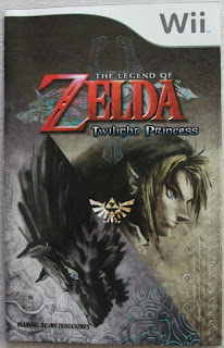 The Legend of Zelda - Twilight Princess - Manual portada