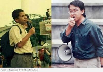 Viral Potret Muda Fahri Hamzah dan Fadli Zon Beredar, Netizen +62