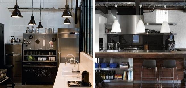 I Love Z Decor Estilo industrial na cozinha