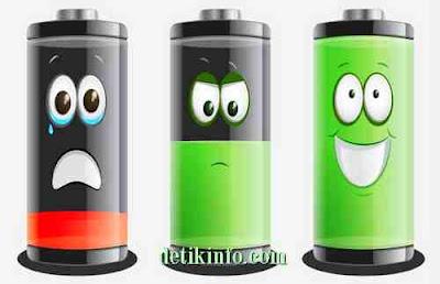 membuat baterai tidak melembung