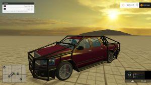 Dodge with tube frame car