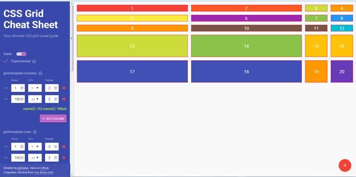 CSS Gride Guide Visuel