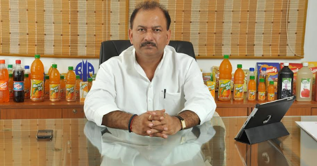 Mr. Dhirendra Singh, CMD, Manpasand Beverages.