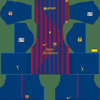 Kit DLS FC Barcelona 2011/2012