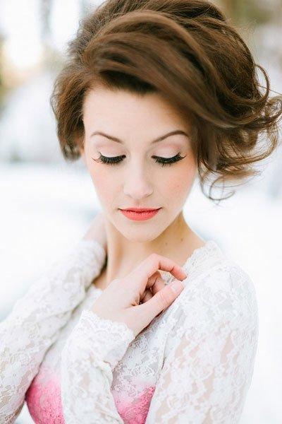 como hacer peinados de novia semirecogidos