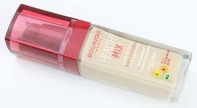 Bourjois Healthy Mix Foundation: Old vs New Fomula review swatches application