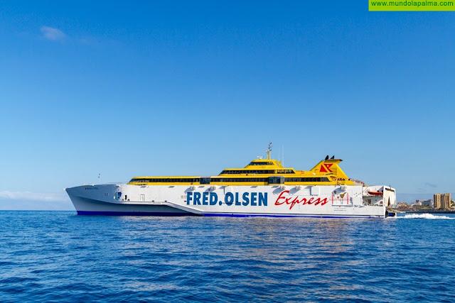 Fred. Olsen Express amplía su ruta directa entre La Palma y Tenerife hasta final de año