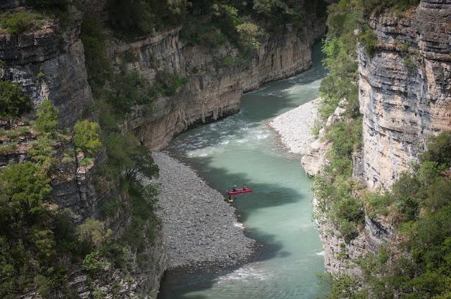 Osumi River, Albania