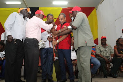 Shahbaal endorsed by the Mombasa Kamba Community. PHOTO | George Charo