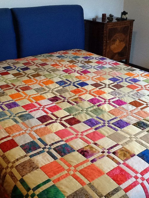 Disappearing Four Patch Quilt - Tutorial