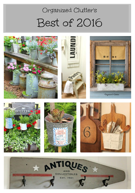 Best Home & Junk Garden Projects of 2016 organizedclutter.net