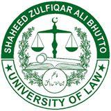 Shaheed Zulfiqar Ali Bhutto University of Law Karachi Jobs 2021