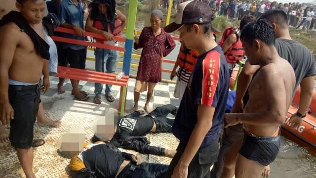 Warga Dan Tim Basarnas Berhasil Evakuasi Korban Tenggelam Di Danau Cigaru
