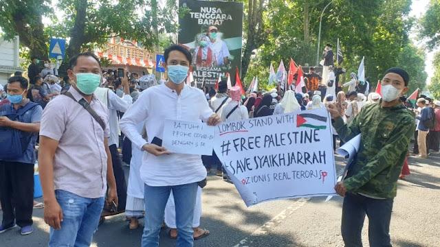 Koalisi Rakyat NTB desak Gubernur ambil sikap tegas dukung Palestina