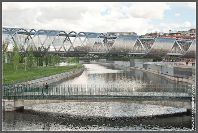 Madrid Rio: Manzanares y Puente de Arganzuela