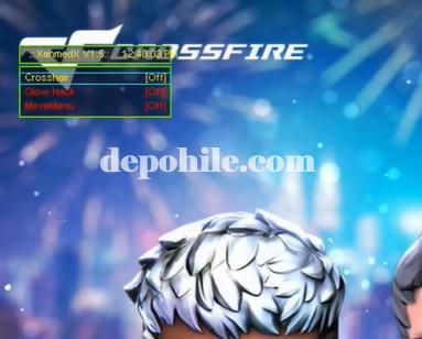 Crossfire AL Mini D3D v1.5 Glow, Crosshair Hilesi İndir 2021