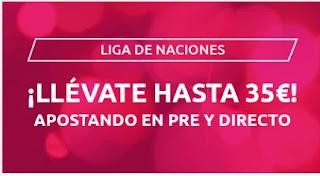 Mondobets promo liga de naciones hasta 14-10-2020