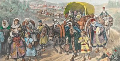 Os judeus espalhados pelo mundo