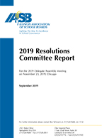 IASB Resolutions Committee Report